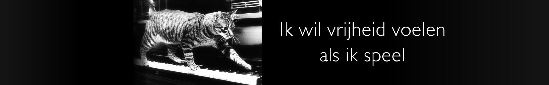 Piano improvisatie, vrijheid voelen als ik speel
