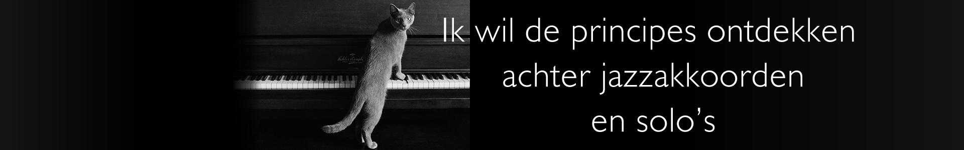 Piano improvisatie, principes ontdekken achter jazzakkoorden